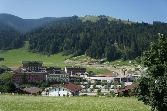 Leogang, Austria: The mountain view from the room
