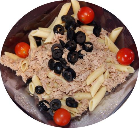 San Sebastian de los Reyes, สเปน: ensalada de pasta integral
