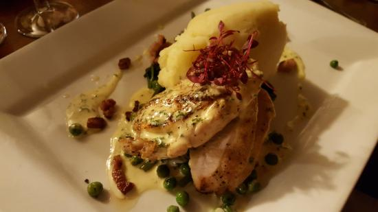 Congleton, UK: Chicken Colcannon