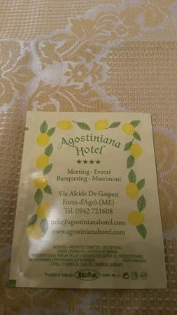Hotel  Agostiniana: 20150806_132200_large.jpg