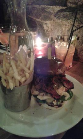 Launceston, UK: Mansize meal!