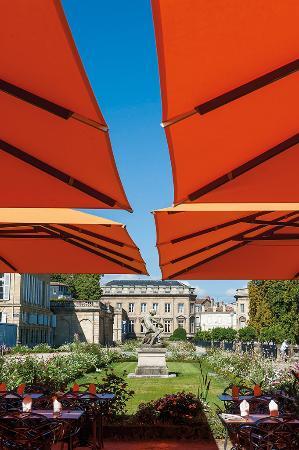 L 39 orangerie du jardin public bordeaux restaurant avis - Restaurant jardin de l orangerie strasbourg ...