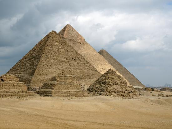 Egypt Fun Tours Day Trips: Six pyramid view at Giza