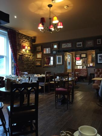Addingham, UK: The de havilland room and restaurant