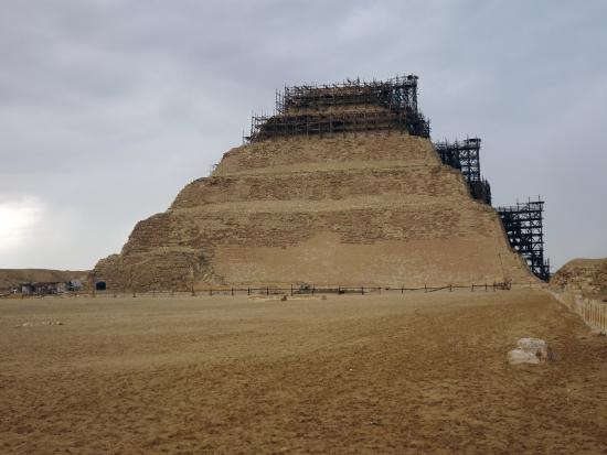 Egypt Fun Tours Day Trips: Step Pyramid of Saqqarah