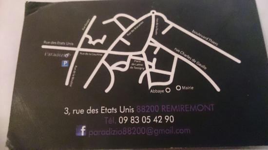 Remiremont, Francia: Paradizio