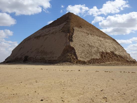 Egypt Fun Tours Day Trips: The Bent Pyramid at Dahshur
