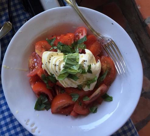 Tsitsikamma National Park, Sydafrika: Tomato & mozzarella