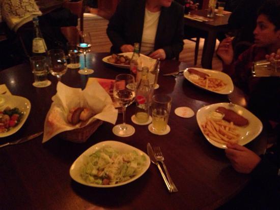 Dinner mit Familie im Cafe del Sol in Hürth
