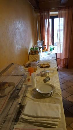 "Filadelfia, Italia: il magro ""buffet"""