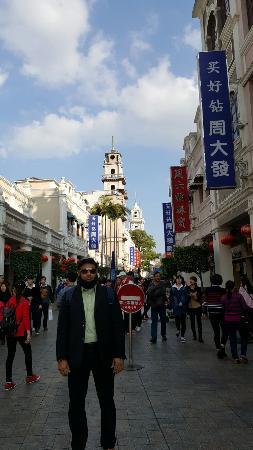 Zhongshan, Chine : Suxi walk St