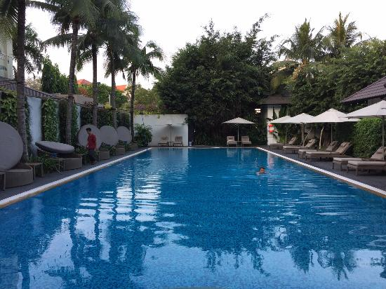Villa Song Saigon: Great pool with F&B service upon request.