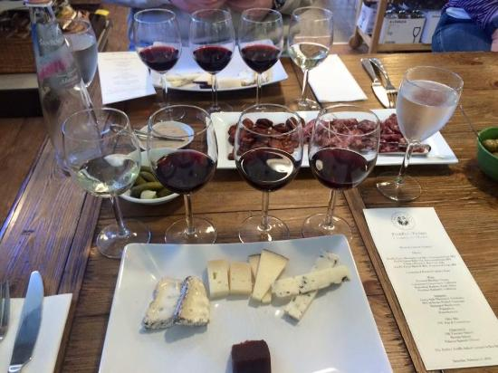 Accident, MD: The 4 wine and cheese pairing