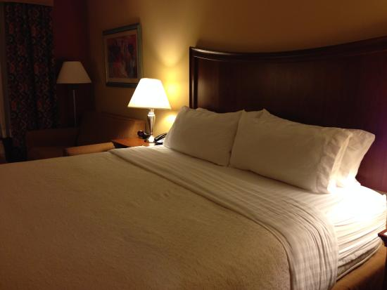 Rocky Mount, NC: King bed