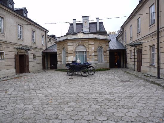 Lancut, Polen: Powóz