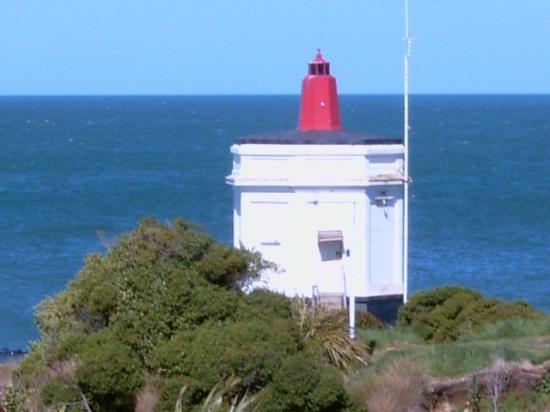 Bluff, Yeni Zelanda: keeping a look out