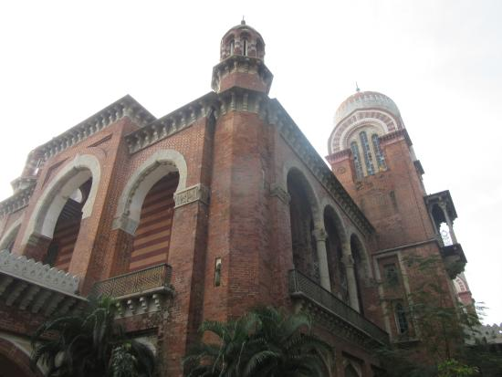 University of Madras : One of the historical building