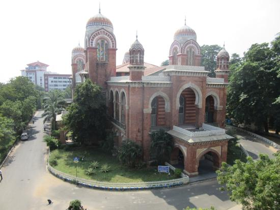 University of Madras : From another building