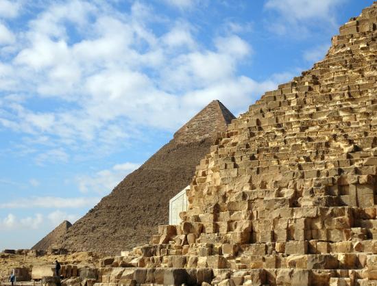 Egypt Fun Tours Day Trips: Three Pyramid view