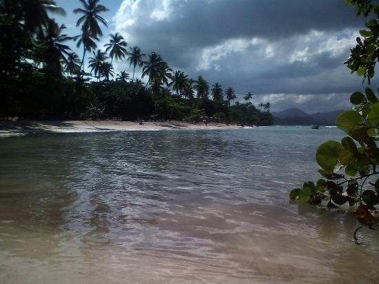 Las Galeras, Dominikana: La Playita beach