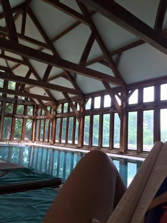 Climping, UK: INSIDE MY POOL