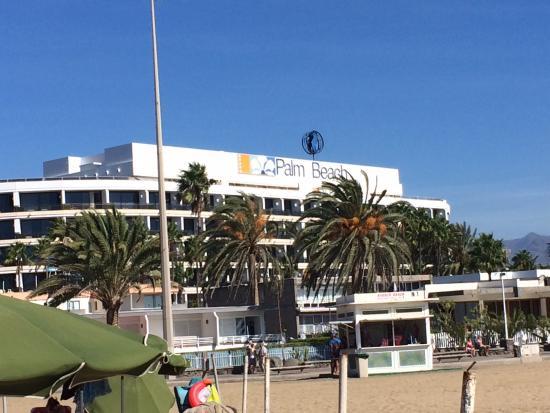 Seaside Palm Beach: Hotel from beach