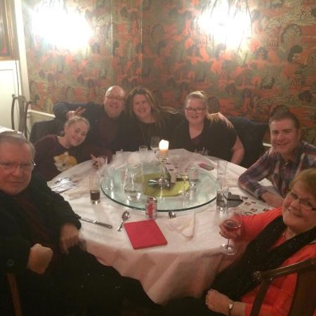 Athy, Irlandia: Me with my family at Ngai's