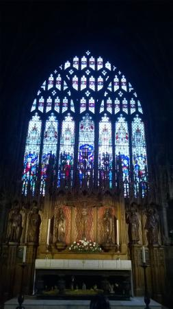 Nantwich, UK: Altar window