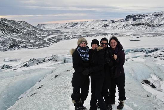 Hvolsvollur, Islanda: Glacial Hike