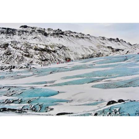 Hvolsvollur, Islanda: Blue Ice