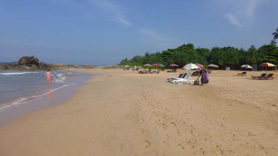 Μπεντότα, Σρι Λάνκα: Übergang zum südlichen Strandabschnitt
