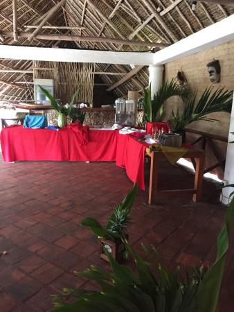 Aquarius Watamu Beach Resort: Ristorante