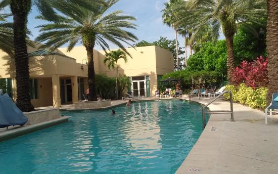 Doral, FL: Pool Area