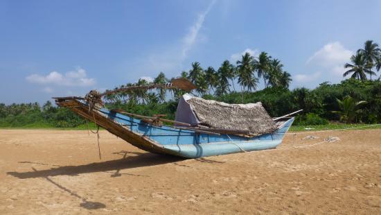 Μπεντότα, Σρι Λάνκα: Menschenleerer Beach