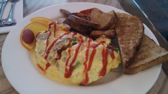 Frank and Lola Love Pensacola Cafe: Bourbon omelette