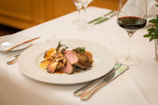 Atlantic Parkhotel: Kulinarik