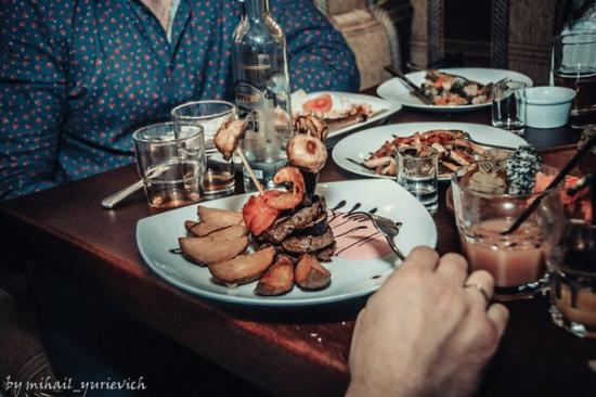 Bila Tserkva, Ukraina: еда - вкуснющая