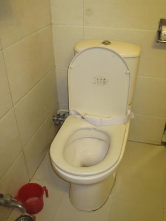 Hotel Lal's Haveli: トイレはそれなり