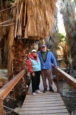 Palm Desert, Californie : The San Andreas Fault Oasis