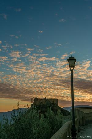 Lanjaron, Spain: stay on for the beautiful sunset in November