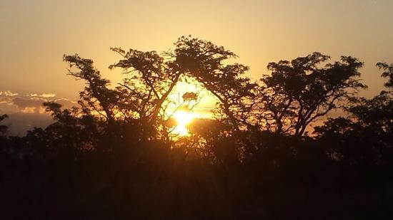 Welgevonden Game Reserve, جنوب أفريقيا: Sun downer time