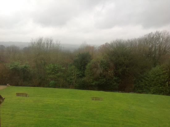 Stow-on-the-Wold, UK: View from bedroom