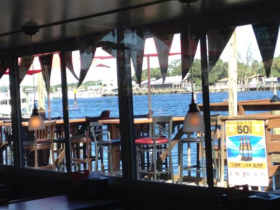 Whiskey River Sports Bar & Grill: View from the table
