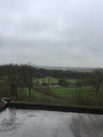 Nutfield, UK: View from other side of hotel.