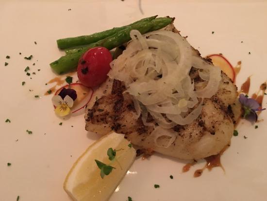 OPUS Wine Bar: Grilled snow fish