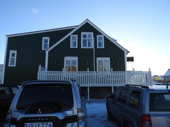 Stykkisholmur, Island: Exterior photo of the building