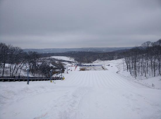 Eureka, MO: A view from the top of the tube slide