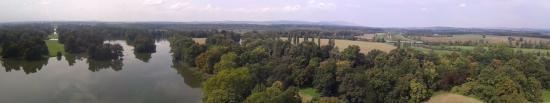 Lednice, Tjekkiet: View from Minaret