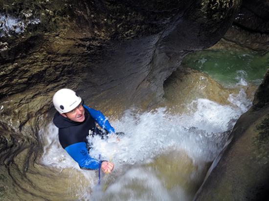Bernin, Francja: canyoning dans le Jura