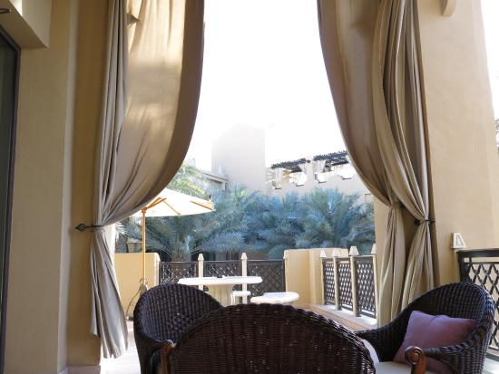 Arabian Court at One&Only Royal Mirage Dubai: Courtyard for Afternoon Tea